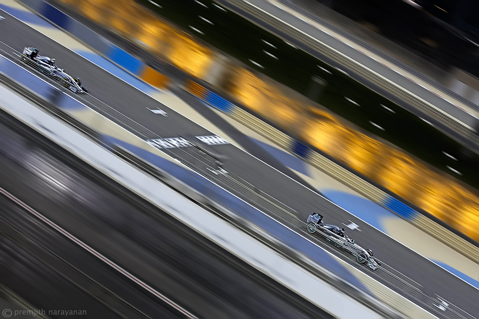 Lewis Hamilton & Nico Roseberg, MERCEDES AMG Petronas