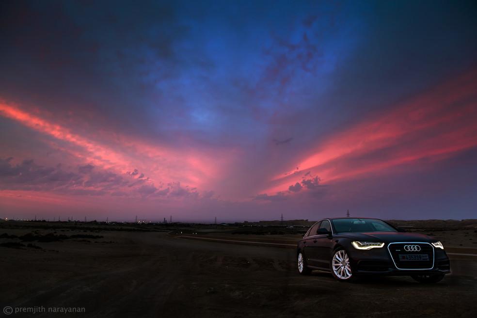 AUDI Car Shoot, BAHRAIN