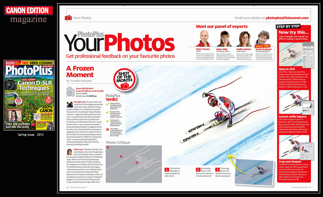 CANON edition magazine, photoplus, uk