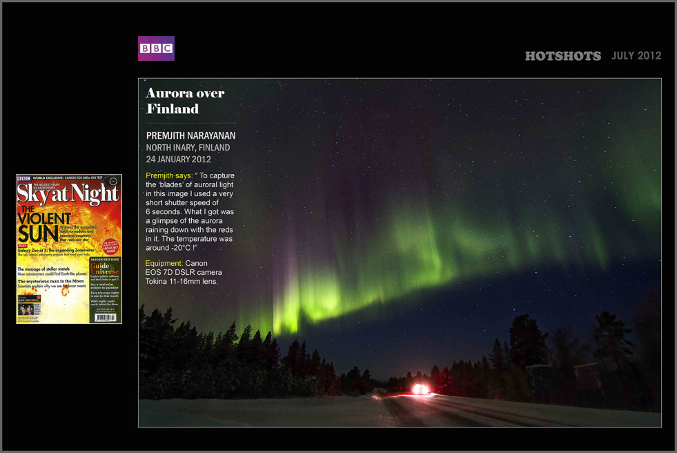 BBC Magazine, Sky at Night, UK