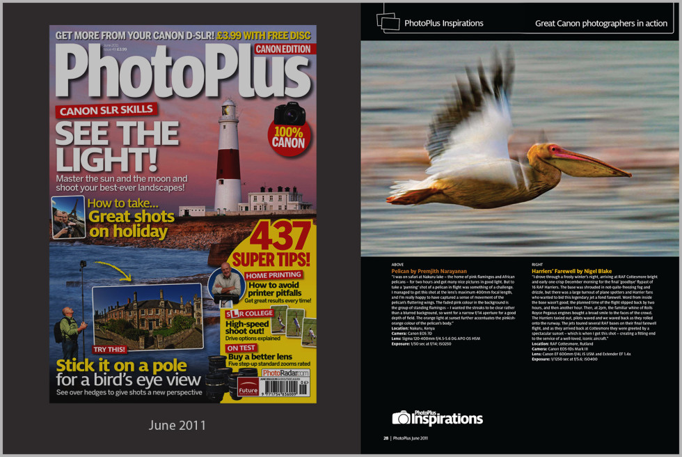 canon edition magazine, photoPlus,Uk