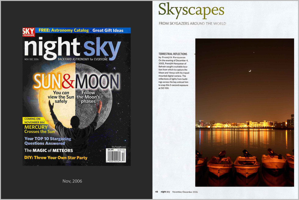 Night Sky Magazine, USA
