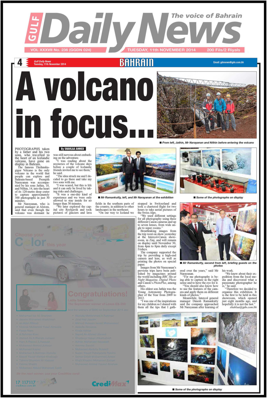 2. Gulf Daily News - 11th Nov (1)