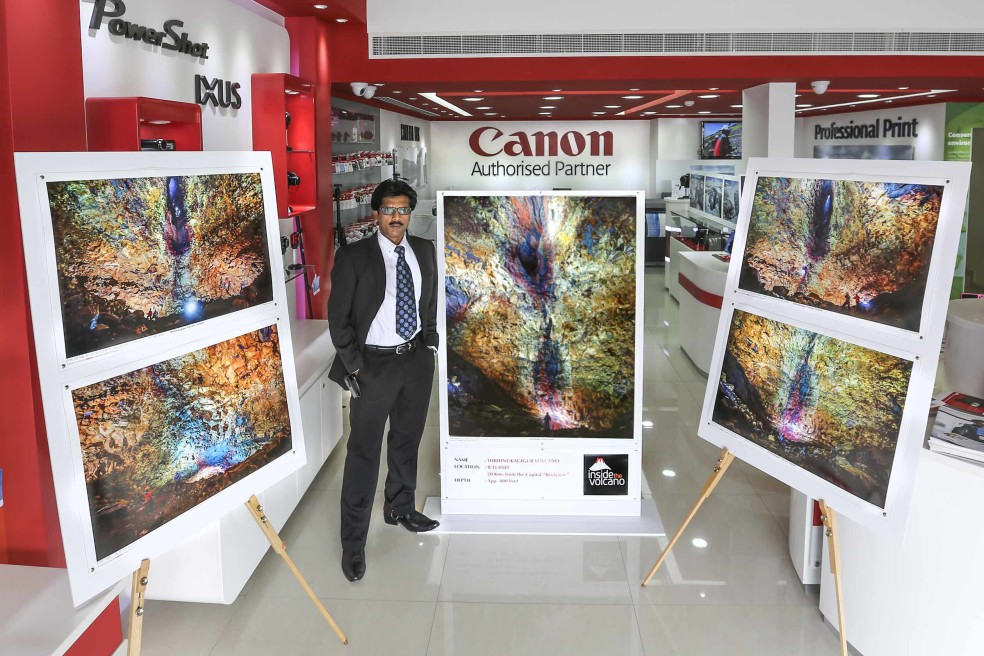 Volcano Exhibition by CANON