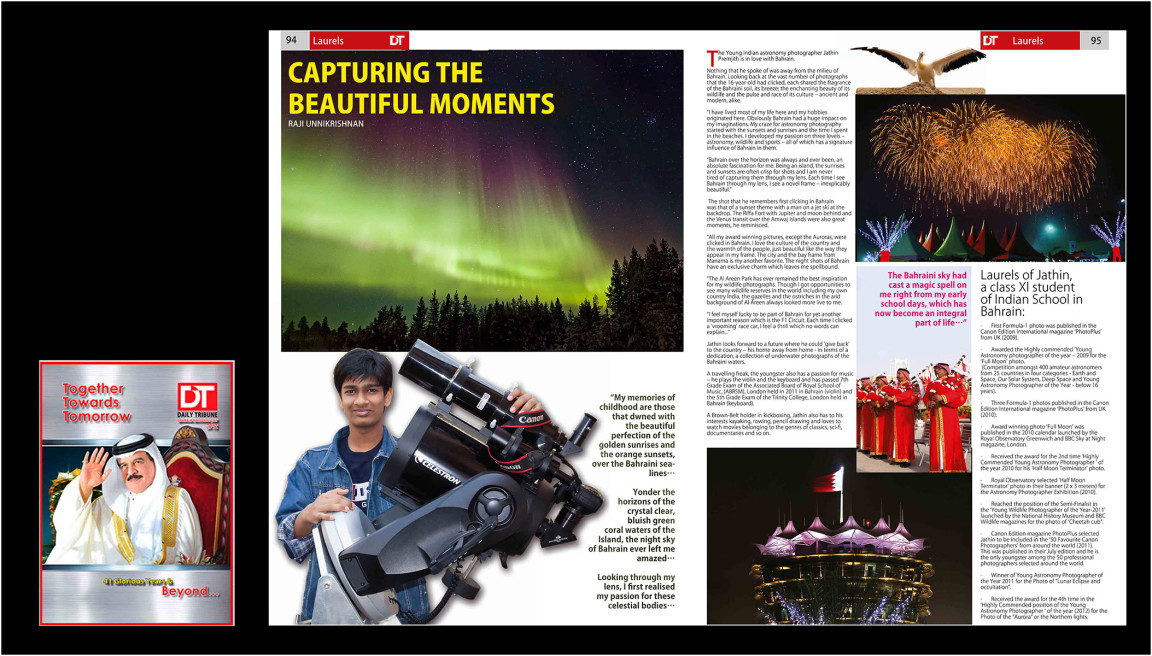 DAILY TRIBUNE – Capturing Beautiful Moments