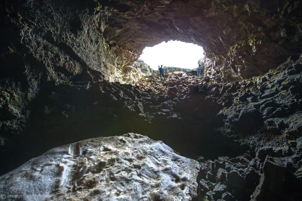 Journey into the 'Víðgelmir' lava tube, Iceland