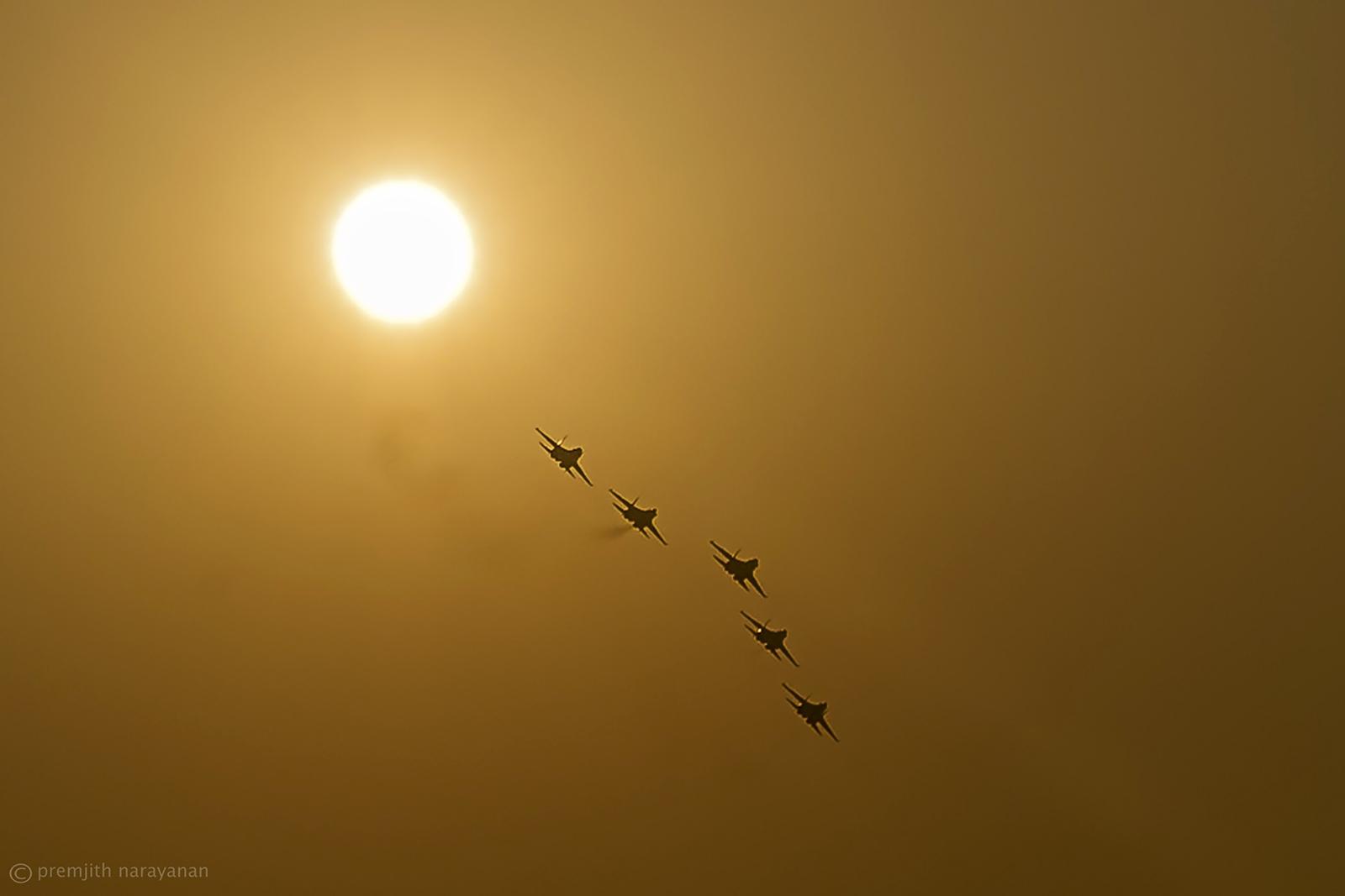 the Russian Knights - SUKHOI Su-27s
