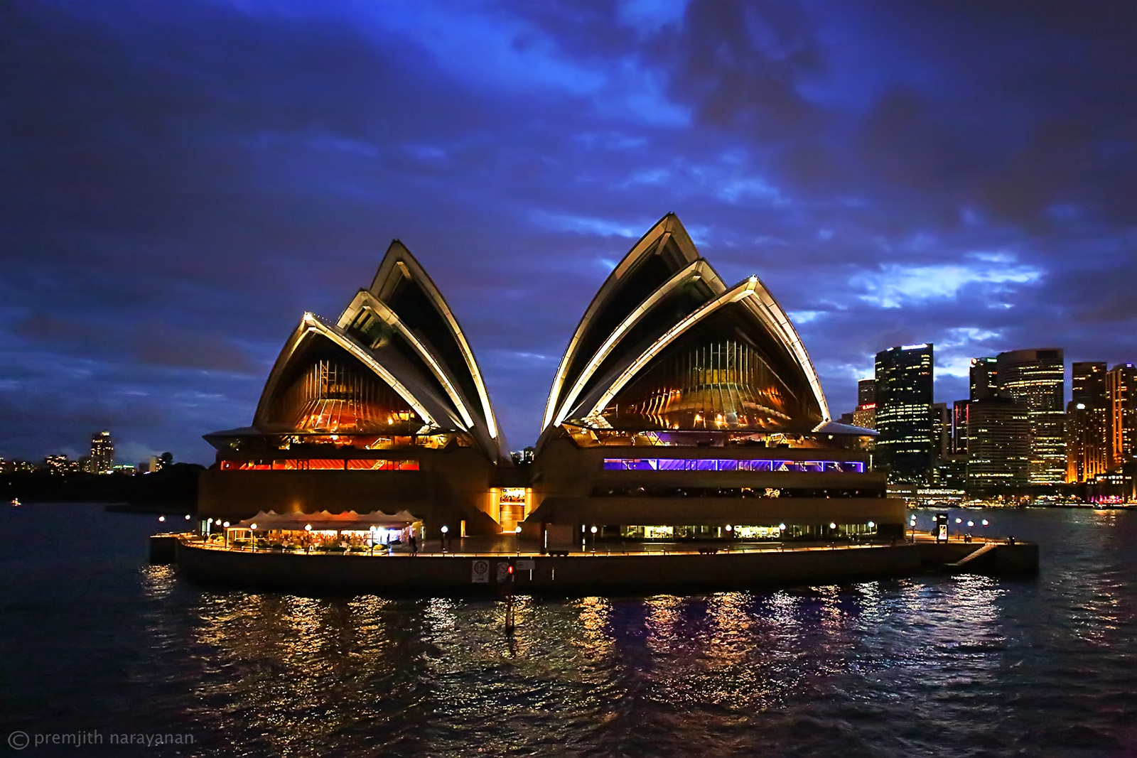 Sydney Opera House - View from the  Steamer