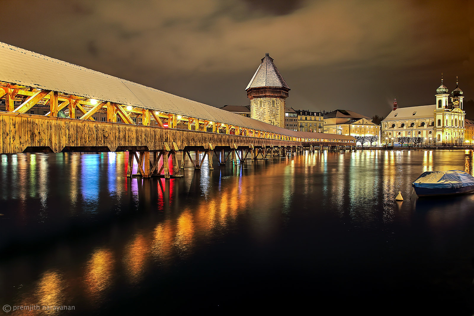 CHAPEL BRIDGE, Luzern