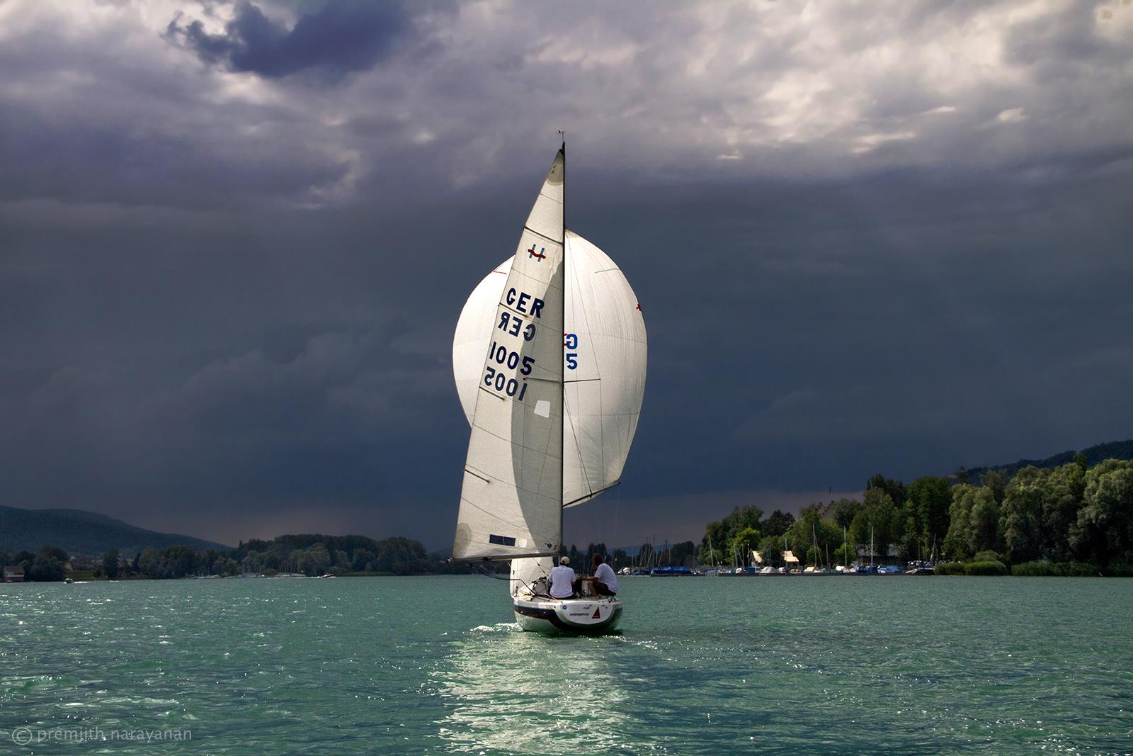 Sailing at 'Lake constance'-MK