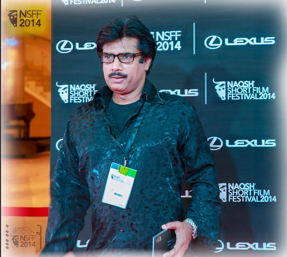 "AT  THE  ""NAQSH  INERNATIONAL  FILM  FESTIVAL"", BAHRAIN"