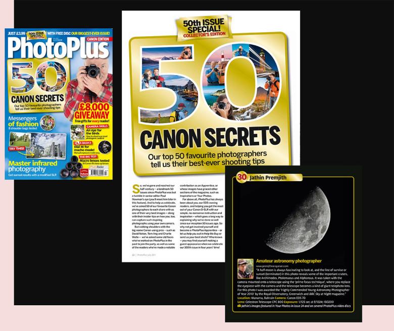 PhotoPlus 50 Favourite Canon Photographers