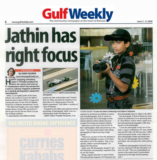 GULF WEEKLY magazine, bahrain