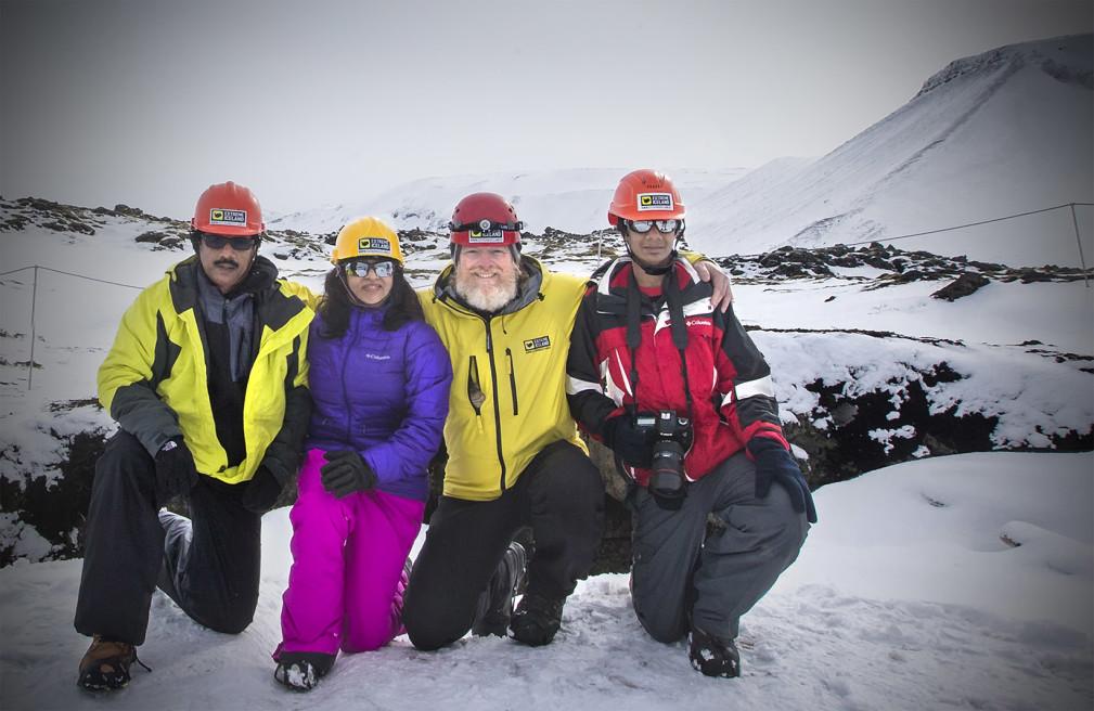 """EXploring the """"Leidarendi"""" Lava Caves, Iceland"""