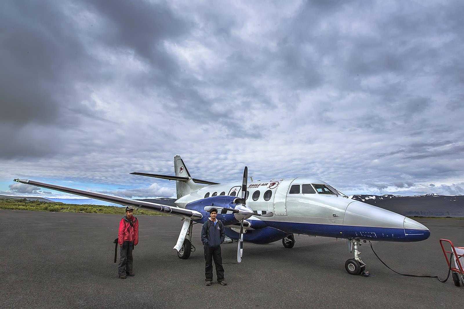 Charter Flight - REYKJAVIK to HUSAVIK