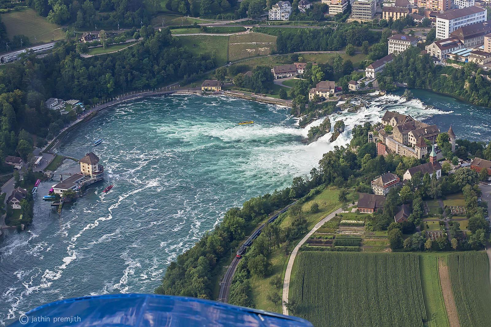 """RHINFALL"" - THE  BIGGEST  WATERFALL  OF  EUROPE."
