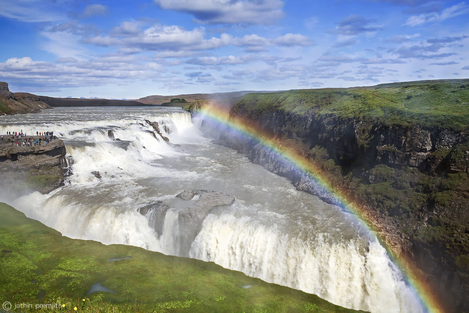 GULFOSS (Golden Waterfalls)