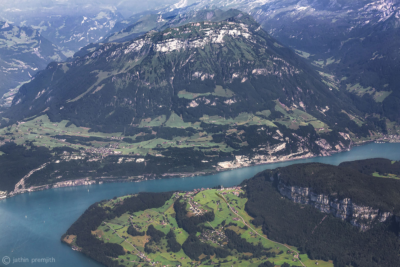 """FRONALPSTOCK""   MOUNTAIN  AND  LAKE  ""LUCERNE""."