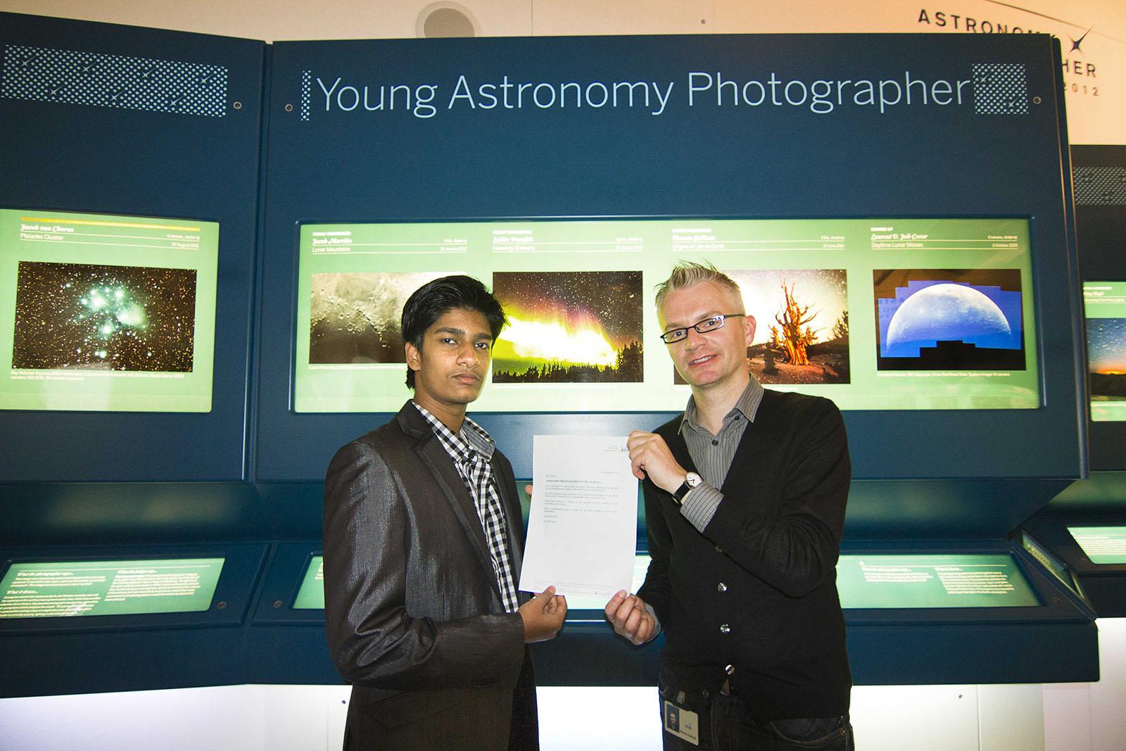 The Award winning ceremony, Greenwich, London