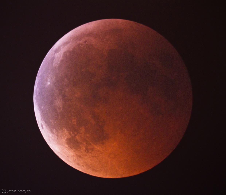 Total Lunar Eclipse, 15th June, 2011