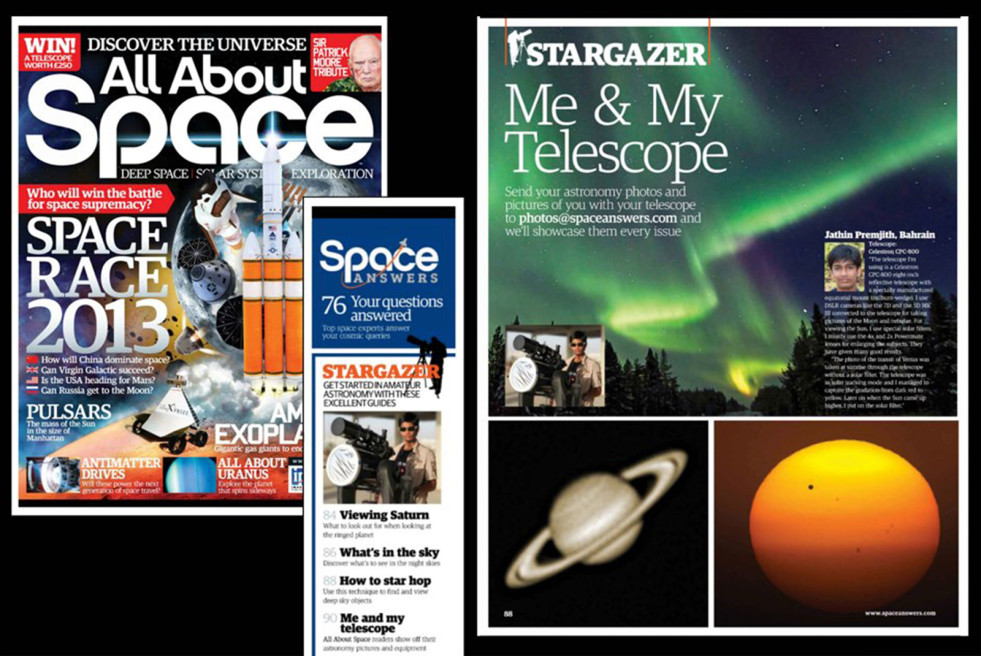 ALL ABOUT SPACE MAGAZINE,  UK