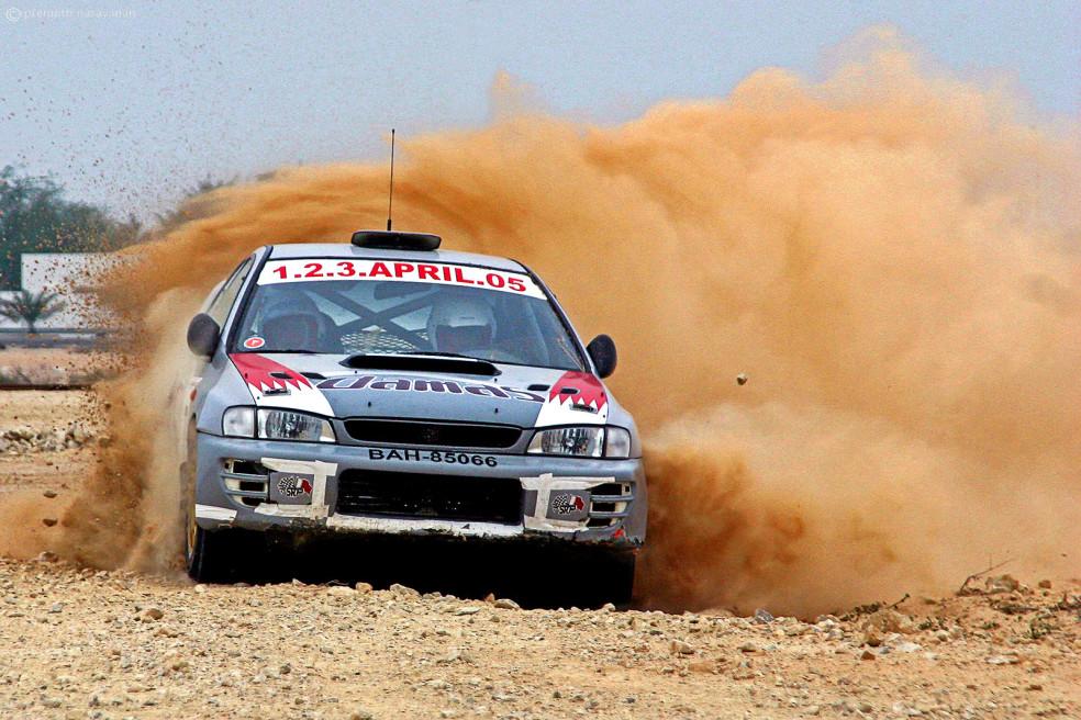 DESERT CAR RALLY, BAHRAIN