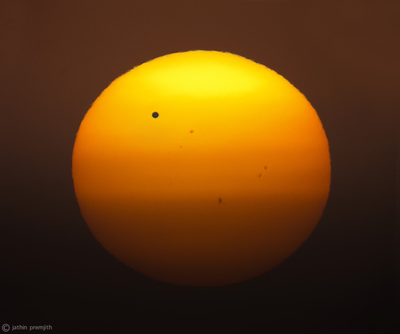 TRANSIT of VENUS, 7th June, 2012