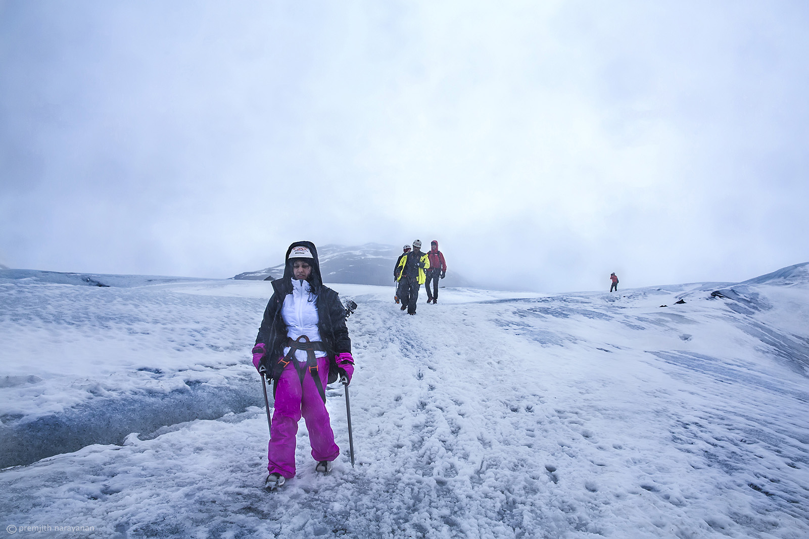 15. Reaching the top of Glacier-6