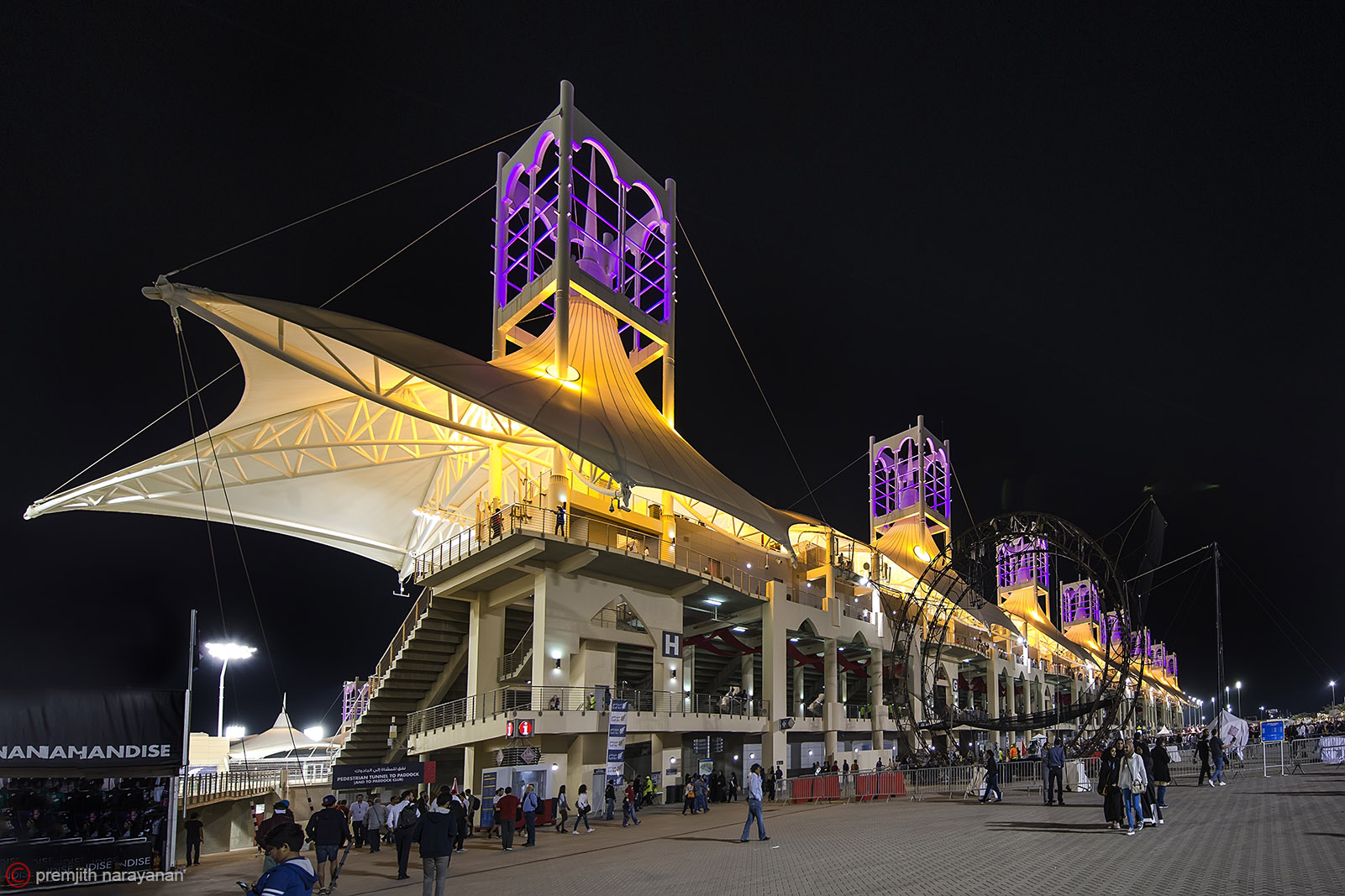 Main Grand Stand from outside